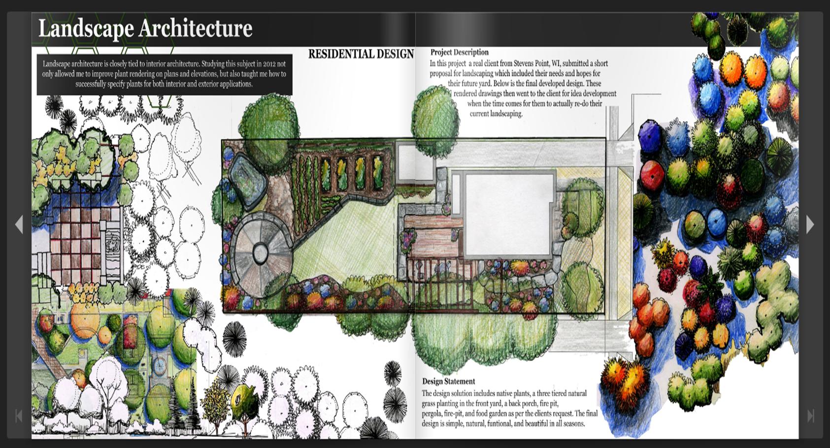 design portfolio landscape architecture