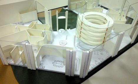 Presentation model of the completed design