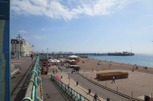 Brighton seaside and pier.