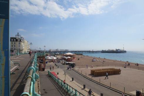 Brighton seaside and pier.