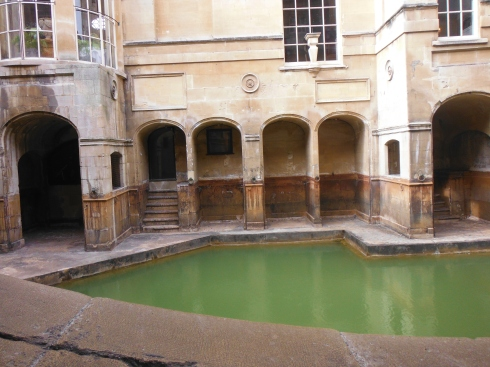 """""""The Sacred Spring"""" In this pool you could see bubbles slowly surfacing from some hidden underground source. It is here that the goddess lives."""