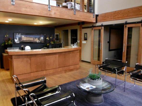 Denton House Design Studio lobby
